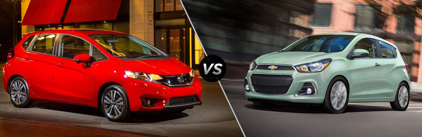 2017 honda fit vs 2017 chevy spark