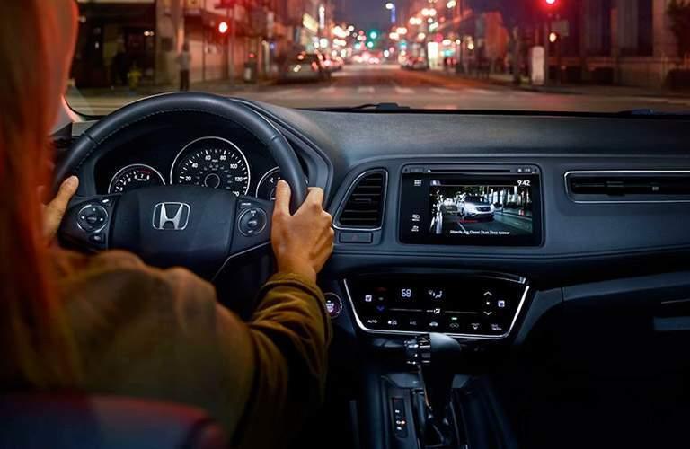 2017 Honda HR-V from the inside