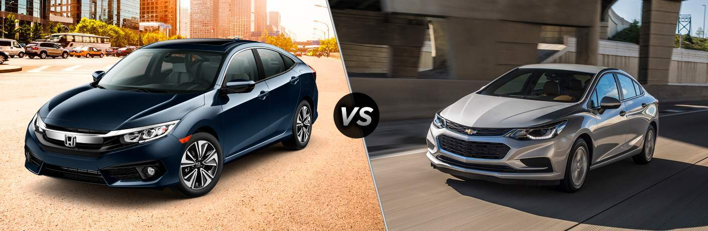 2017 Honda Civic vs. 2017 Chevy Cruze