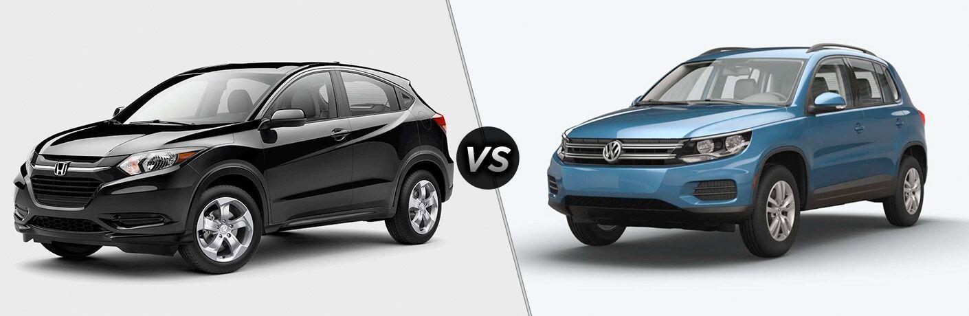 2017 Honda HR-V vs 2017 VW Tiguan