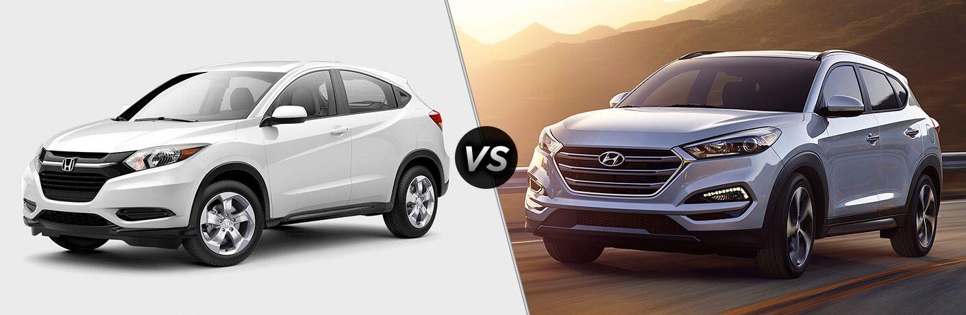 2017 Honda HR-V EX-L Navi vs 2017 Hyundai Tucson