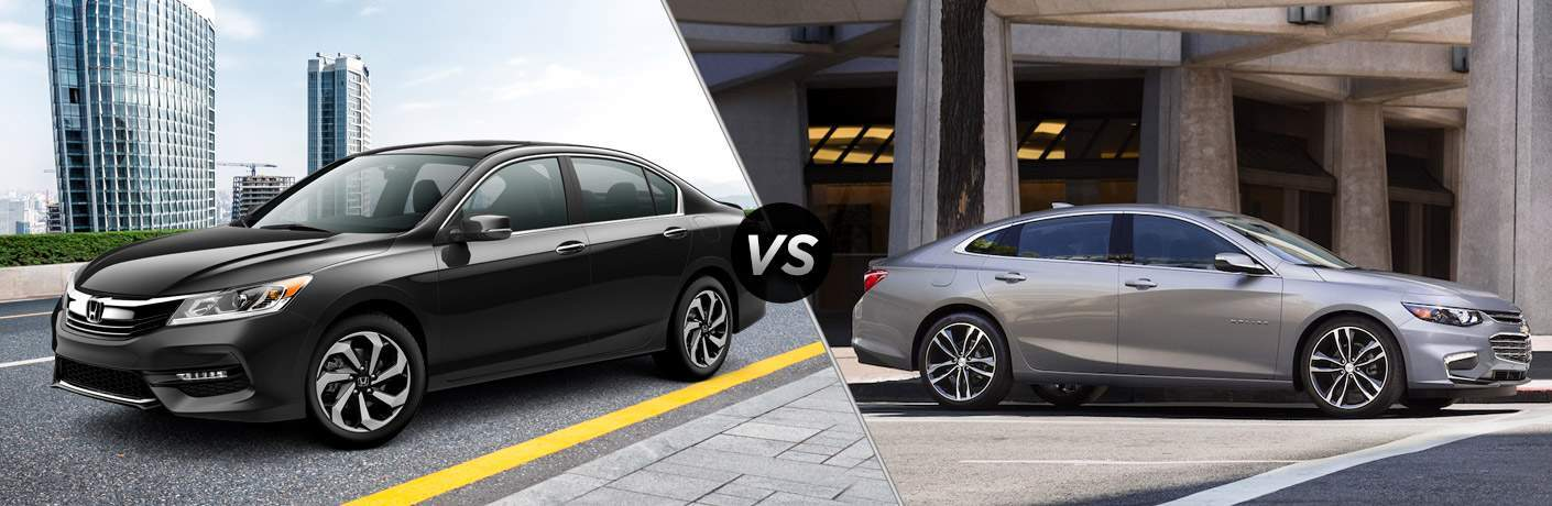 2017 Honda Accord vs. 2017 Chevy Malibu