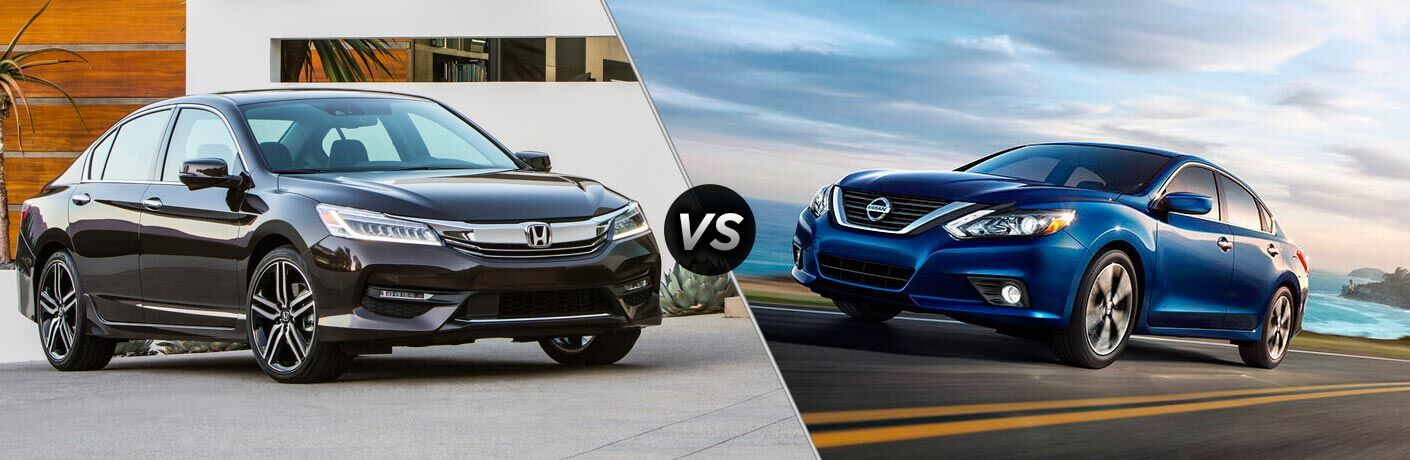 2017 Honda Accord Touring vs 2017 Nissan Altima 3.5 SL