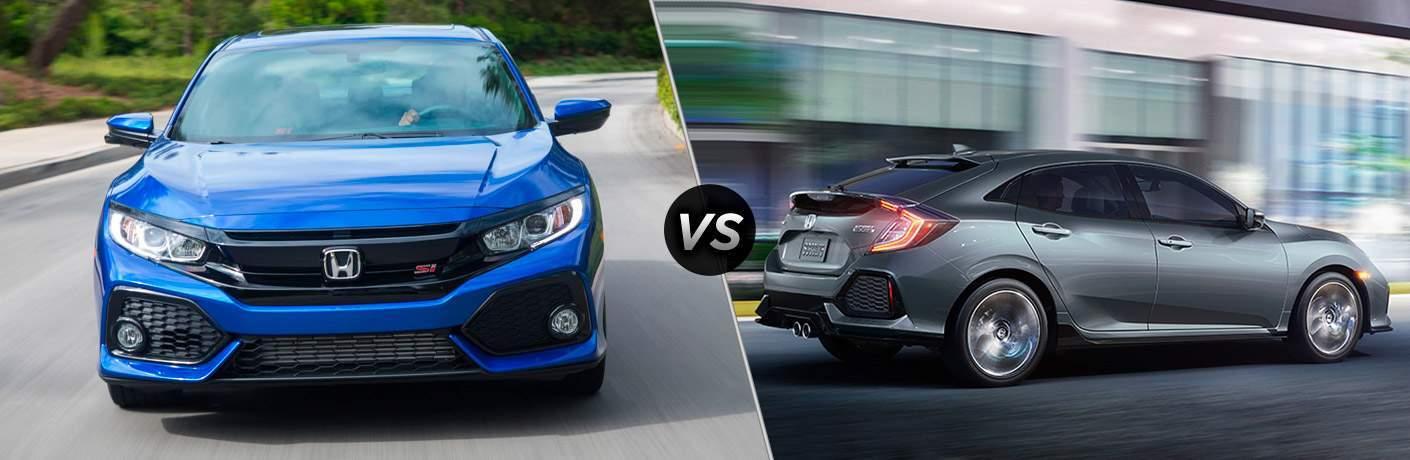 Civic Si vs Civic Sport Hatchback