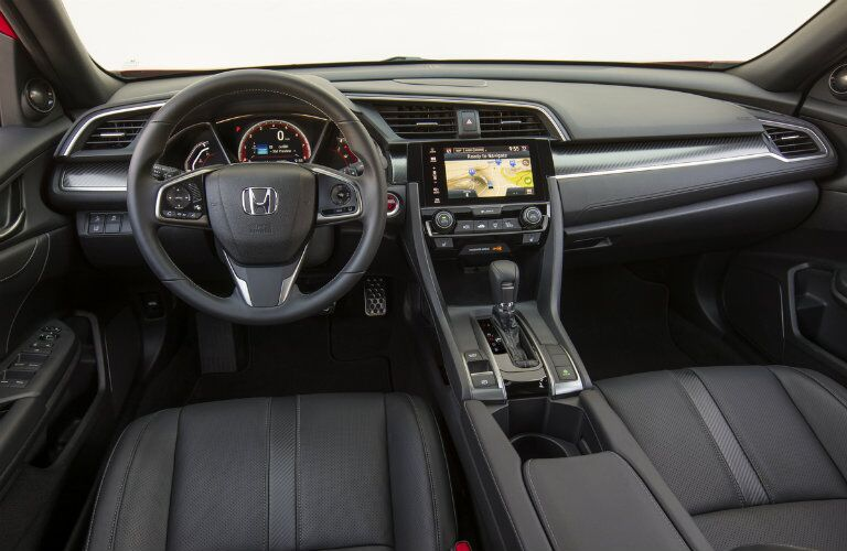 2017 Honda Civic Hatchback Interior Technology