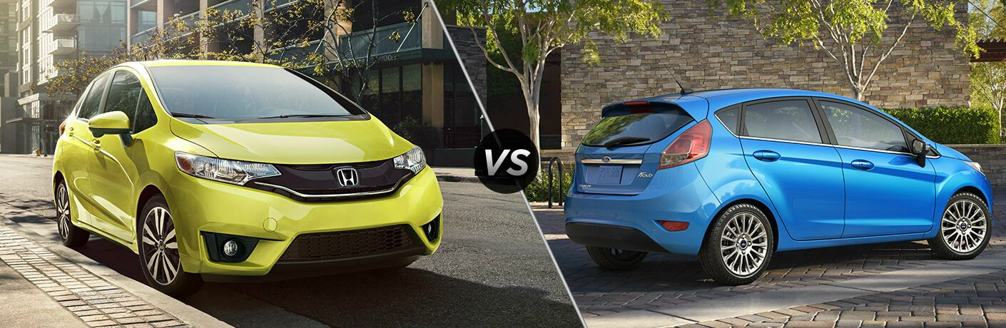 2017 Honda Fit vs 2017 Ford Fiesta