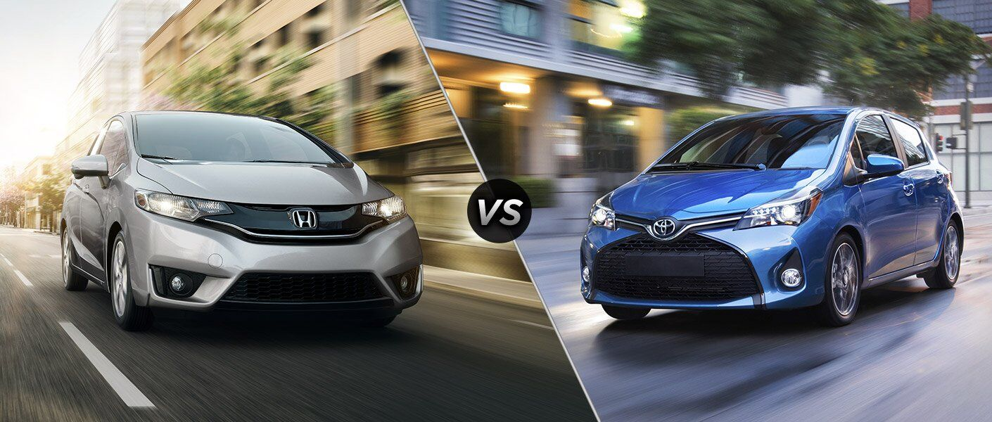 2017 honda fit vs 2017 toyota yaris