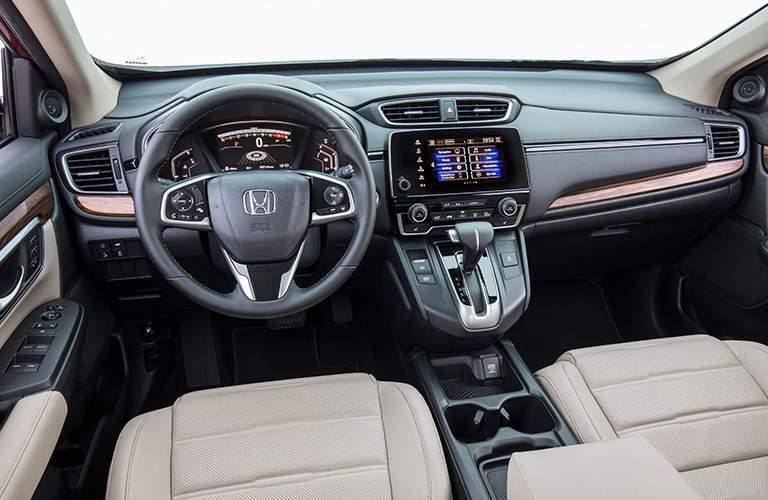 front passenger view of 2017 Honda CR-V