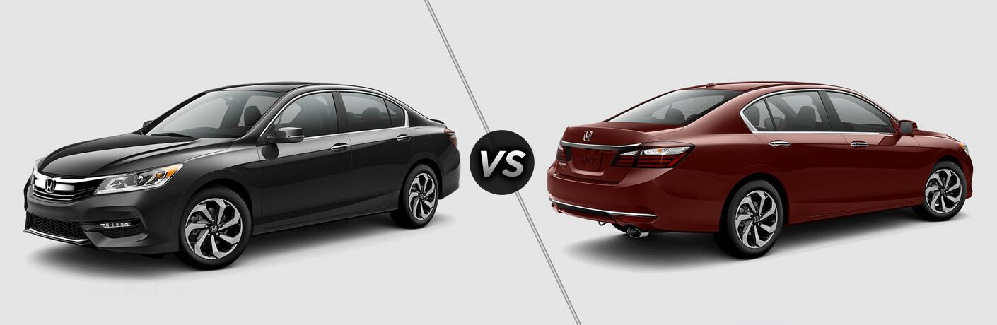2017 honda accord ex vs 2017 honda accord exl