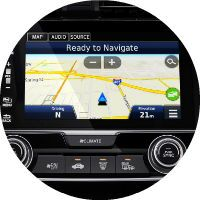 2017 Honda Civic Coupe Satellite Linked Navigation