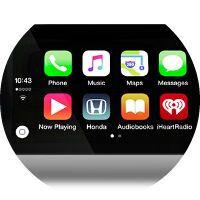 2017 Honda Civic Hatchback HondaLink infotainment system
