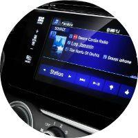 2017 Honda Fit HondaLink infotainment system