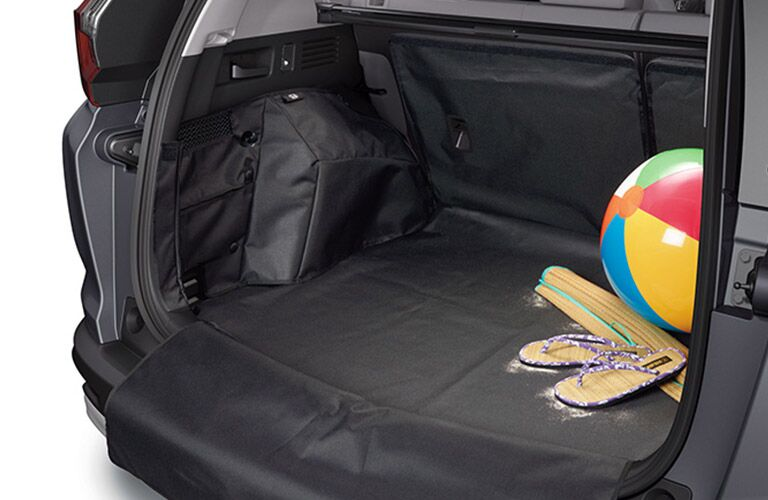 Rear cargo area of the 2018 Honda CR-V