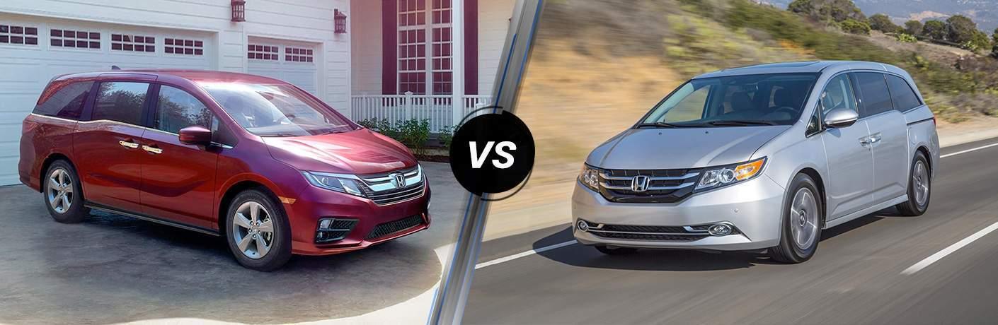 2018 Honda Odyssey EX vs. 2017 Honda Odyssey Touring