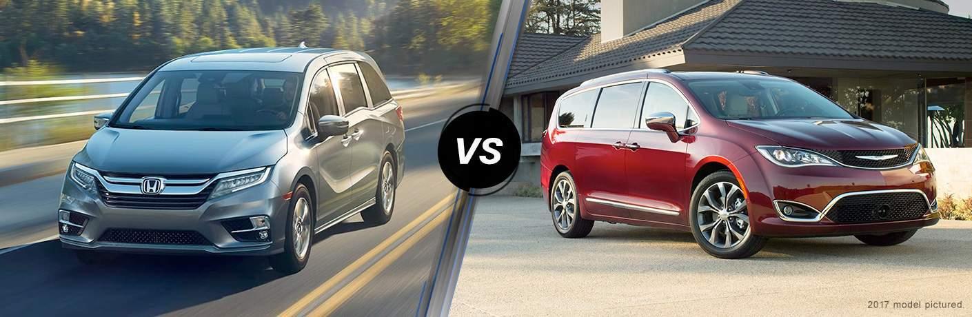 2018 Honda Odyssey Touring vs 2017 Chrysler Pacifica