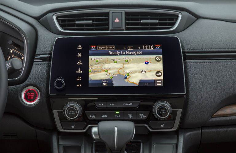 Color touchscreen of the 2018 Honda CR-V