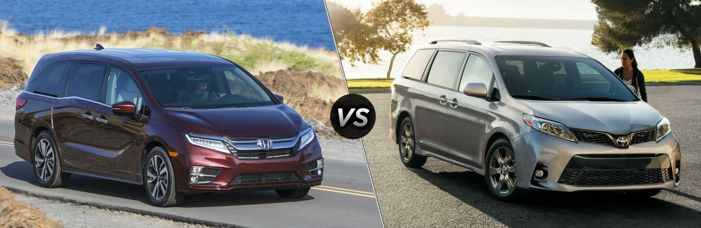 Honda Odyssey Vs Toyota Sienna 2017 >> 2019 Honda Odyssey Vs 2019 Toyota Sienna