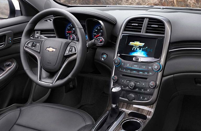 2014 Chevy Malibu dashboard