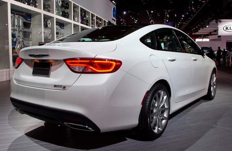 rear view of used Chrysler 200