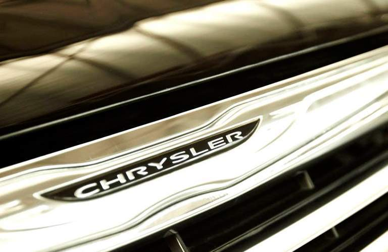 Used Chysler Town and Country nameplate