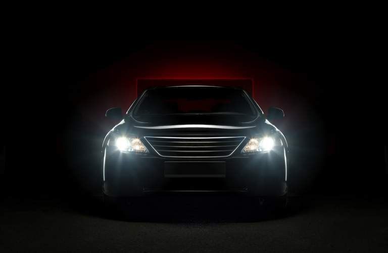 black headlights