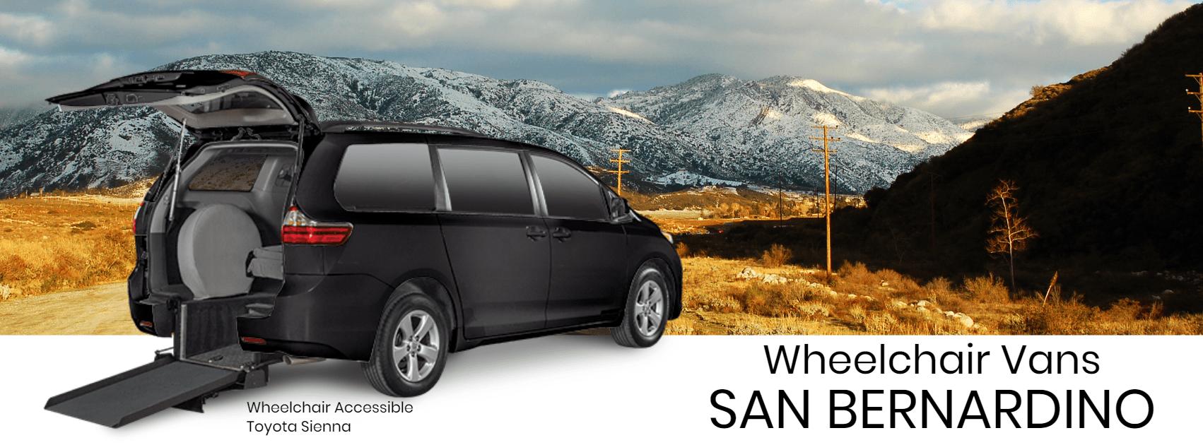 Wheelchair Accessible Vans >> Wheelchair Vans For Sale In San Bernardino Aero Mobility