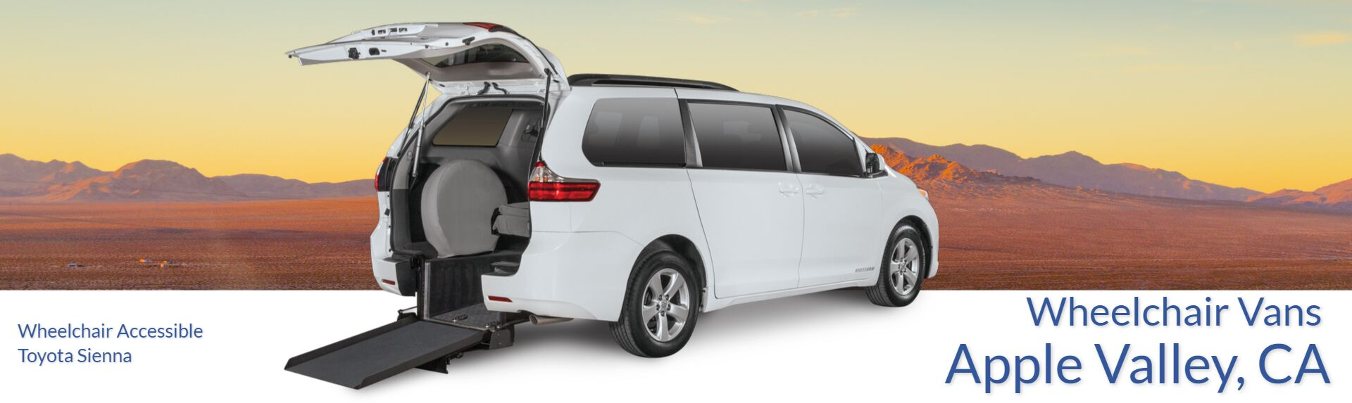 Wheelchair Vans for Sale in Apple Valley, CA | Aero Mobility