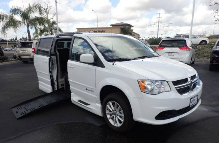 Wheelchair Accessible Dodge Grand Caravan Anaheim CA