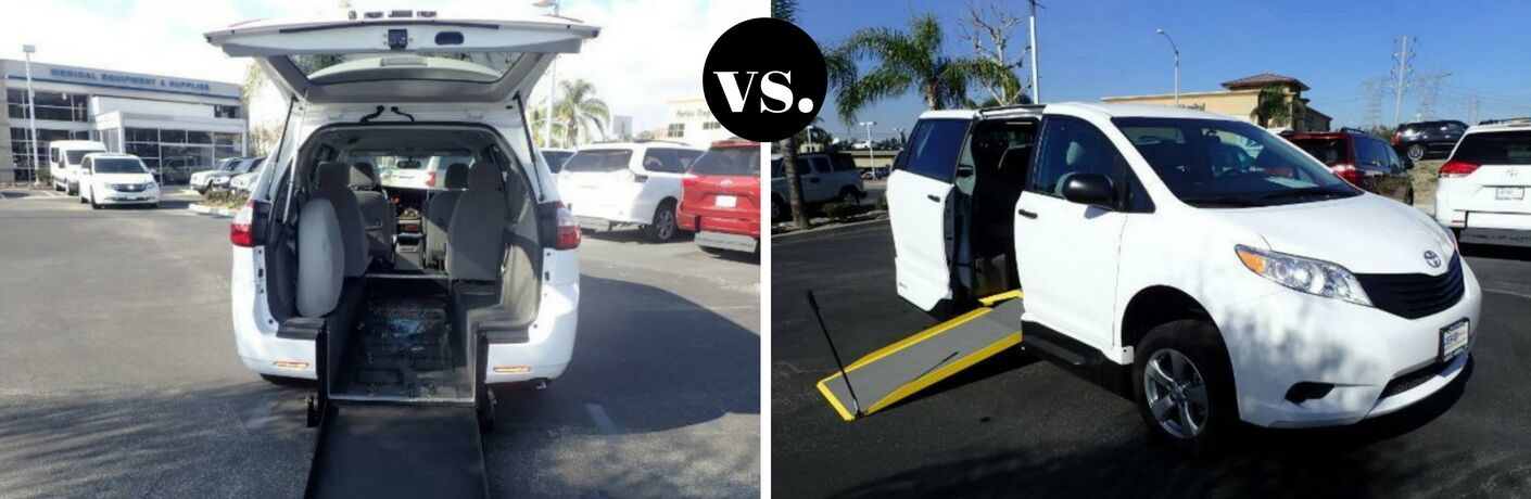 Side Entry vs Rear Entry Accessibility Minivans