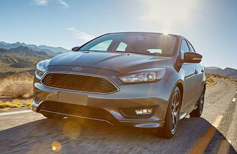 2016 Ford Focus driving on open road