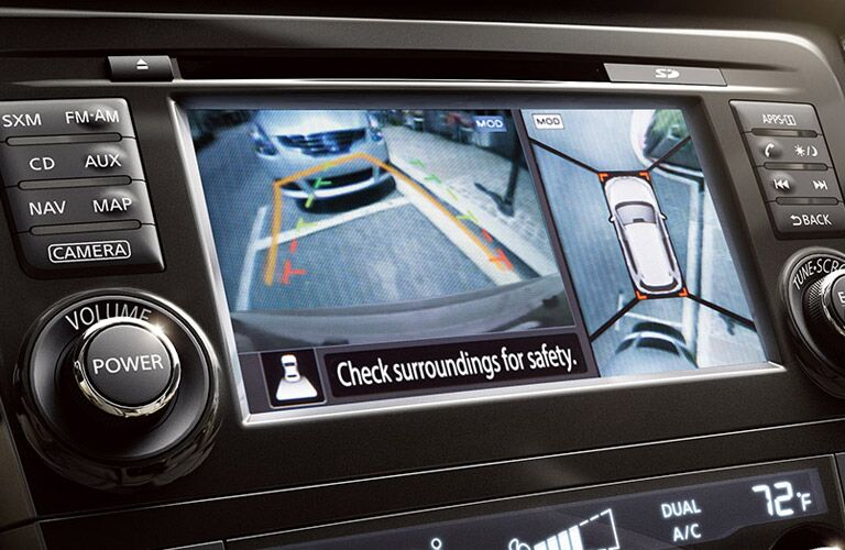 rearview camera of 2016 nissan rogue