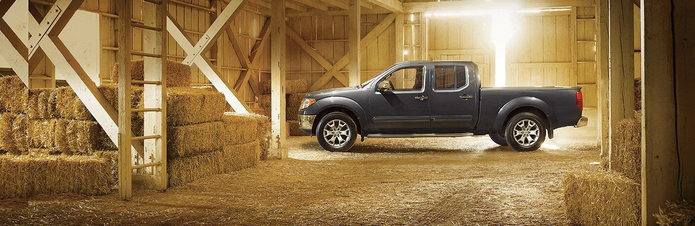 Frontier in a barn