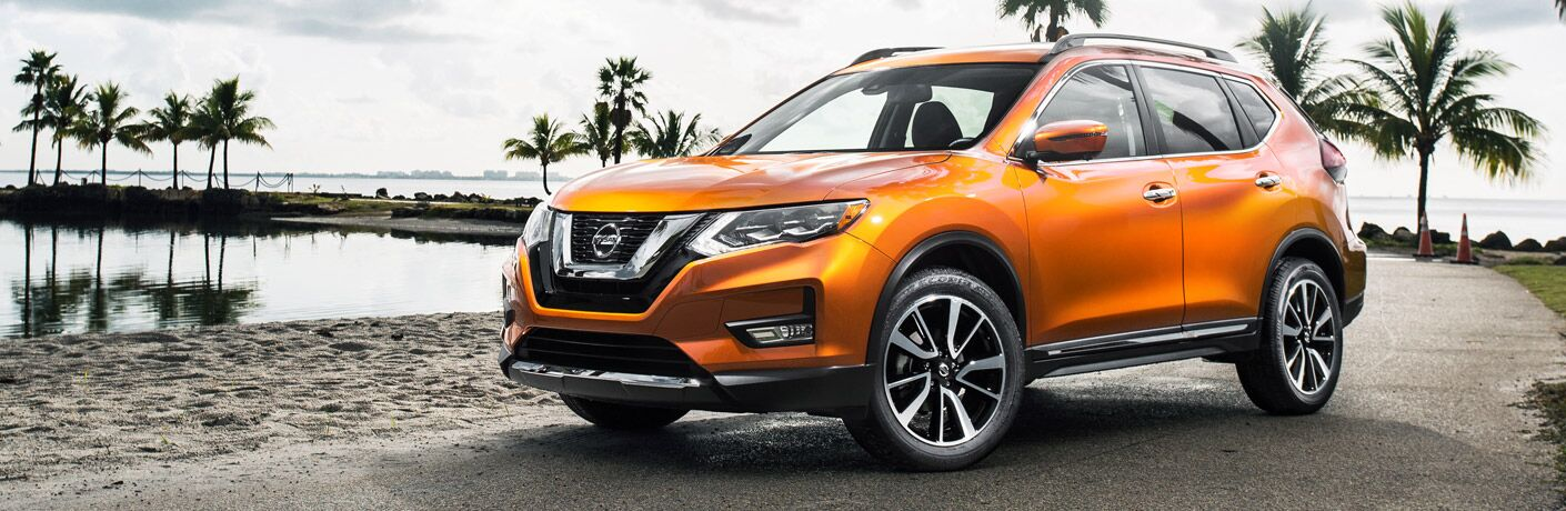 2017 Rogue in Orange