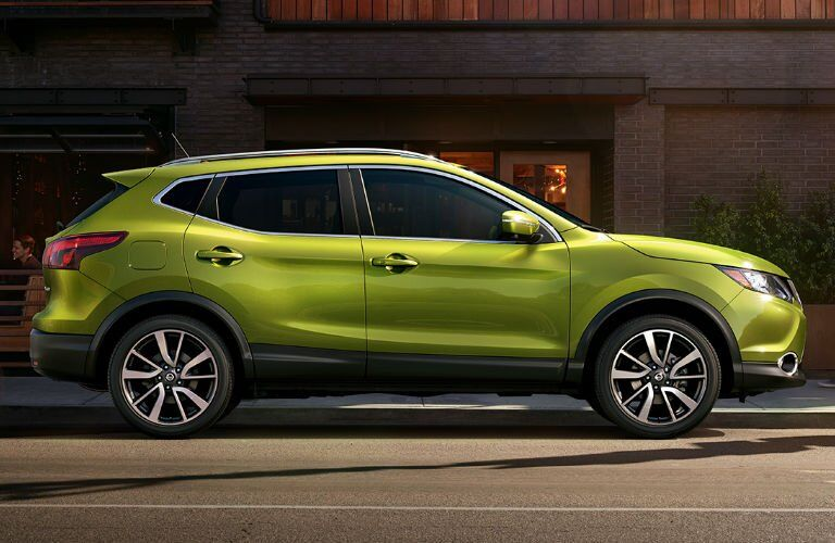 2017 Rogue Sport in Green