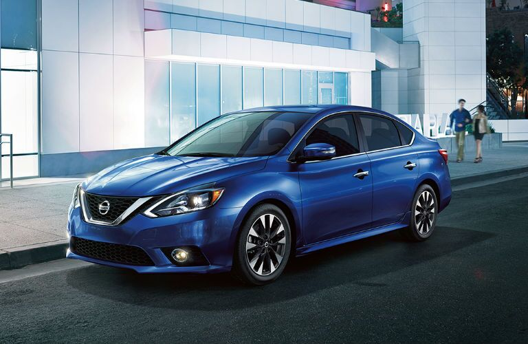 Sentra in blue