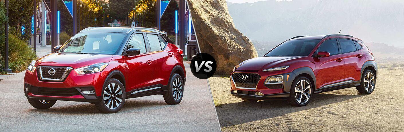 2018 Nissan Kicks vs 2018 Hyundai Kona