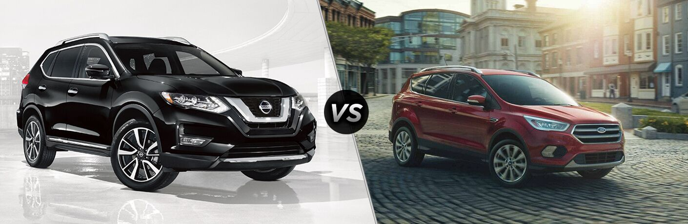 2018 Nissan Rogue vs 2018 Ford Escape