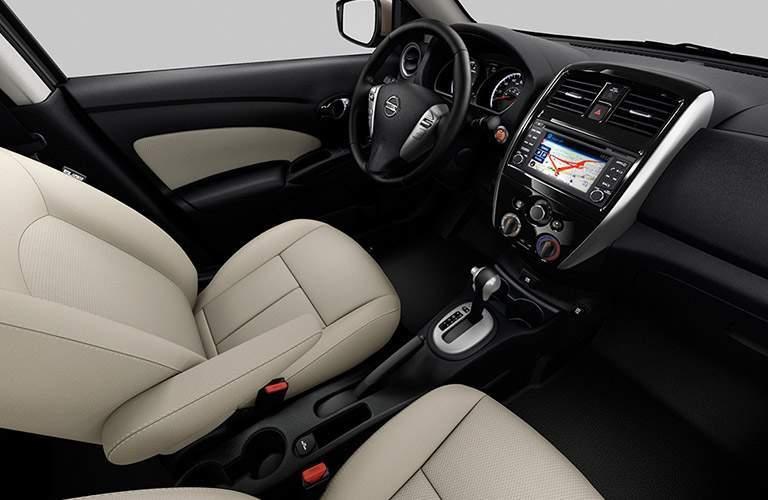 2018 Nissan Versa front interior