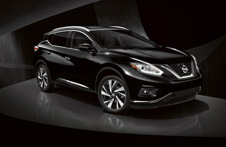 black 2018 Nissan Murano front side view