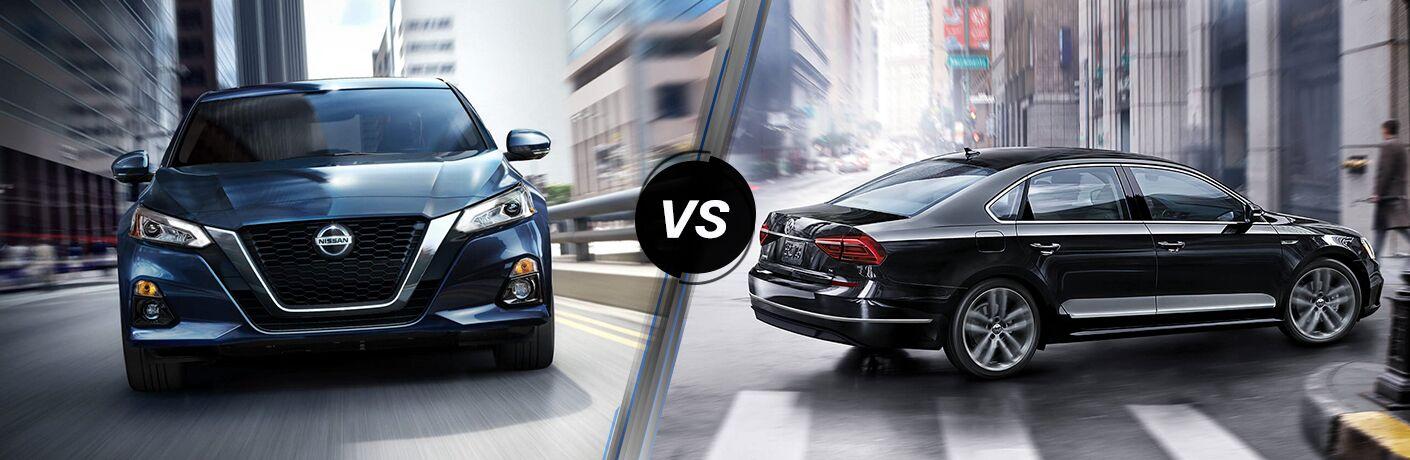 2019 Nissan Altima vs 2019 Volkswagen Passat