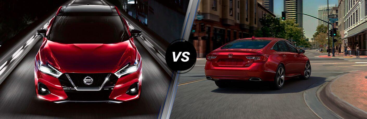 2020 Nissan Maxima vs 2020 Honda Accord