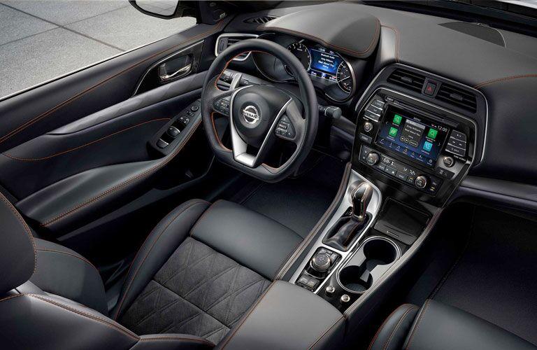 Driver's cockpit in the 2020 Nissan Maxima