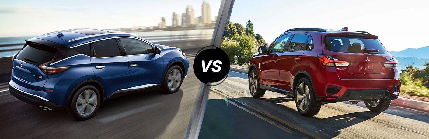 2020 Nissan Murano vs 2020 Mitsubishi Outlander Sport