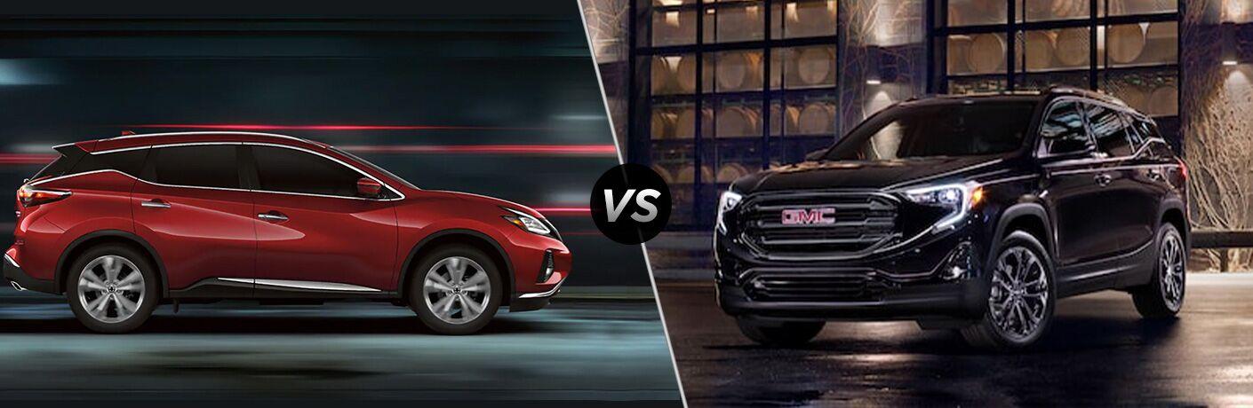 2020 Nissan Murano vs 2020 GMC Terrain