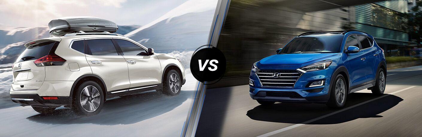 2020 Nissan Rogue vs 2020 Hyundai Tucson