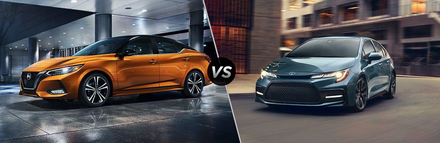 2020 Nissan Sentra vs 2020 Toyota Corolla