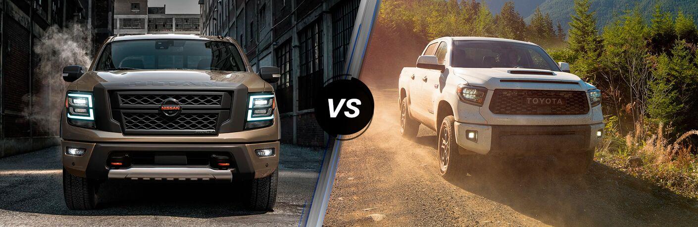 2020 Nissan TITAN vs 2020 Toyota Tundra