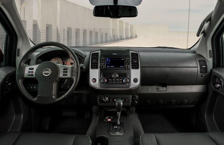 2020 Nissan Frontier Dashboard
