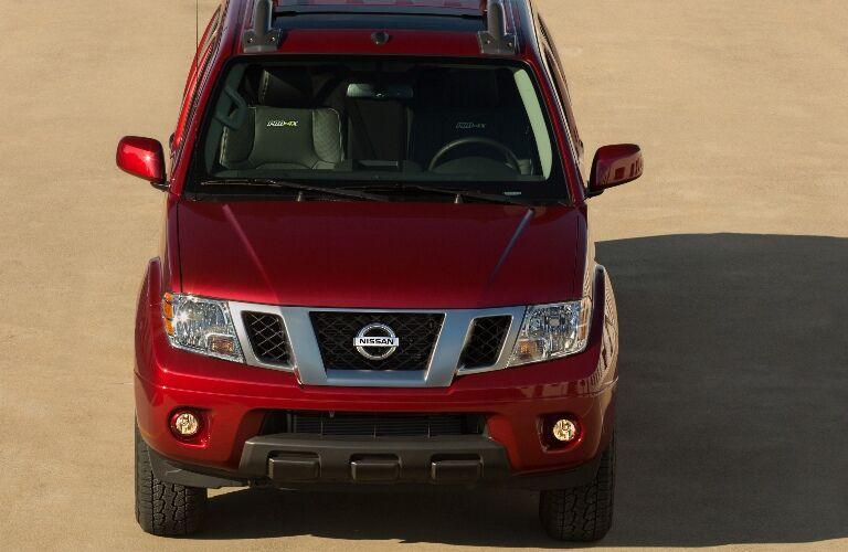 Front end of the 2020 Nissan Frontier