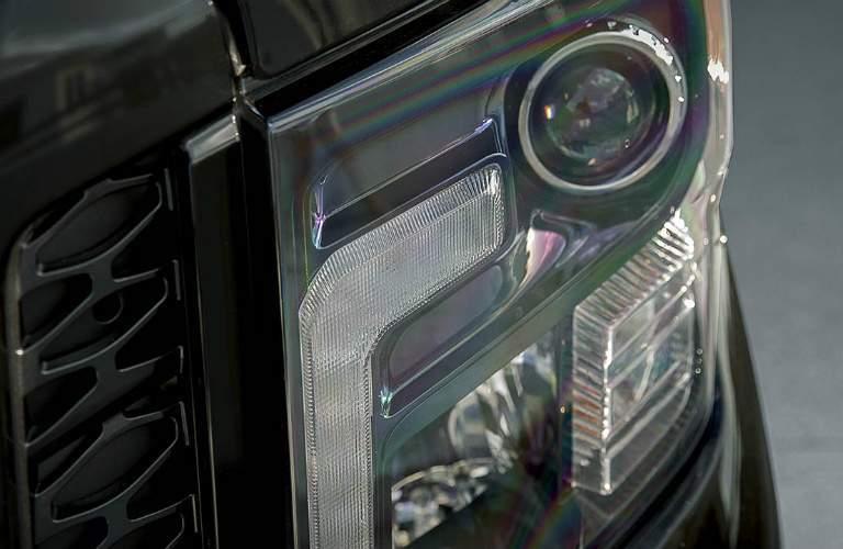 2018 Nissan Titan Midnight Edition headlight
